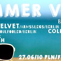 Summer Vibes: Vonda7 (Berlin / Sisyphos) x Kristin Velvet (Berlin / Arms & Legs Rec.)