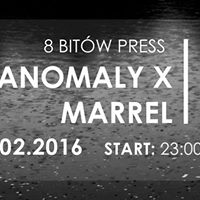 8 Bitów press ANOMALY X, MARREL