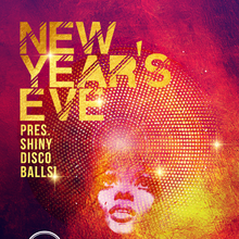 New Years Eve pres. Shiny Disco Balls!