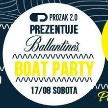 AKCJA BARKA – PROZAK 2.0 pres. Ballantine's Boat Party