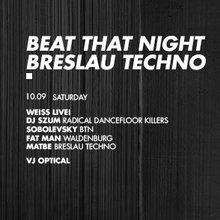 BEAT THAT NIGHT + BRESLAU TECHNO // Barbarka