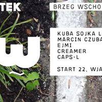 DAPPER x BRZEG WSCH. prezentuje : KUBA SOJKA live, MARCIN CZUBALA, EJMI, CREAMER, CAPS-L