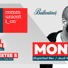 Communication with MONTE (Exploited Rec. / Jeudi Rec. / Hamburg)