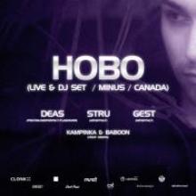 HOBO Live! + Dj Set (Minus) / Kanada
