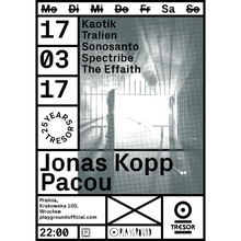 Tresor Showcase w/ Jonas Kopp + Pacou