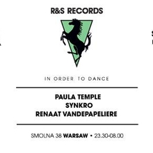 Smolna: R&S Records w/ Paula Temple, Synkro & Renaat