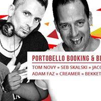 TOM NOVY :: Portobello Booking & Big Boat Party (DAY & NIGHT) :: Seazone Music & Conference