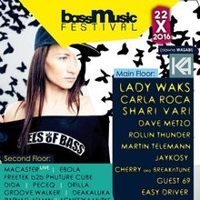 Bass Music Festival 2016 – Lady Waks, Carla Roca, Shari Vari & many more