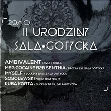 Ambivalent / Ovum, Berlin: 2 urodziny Sala Gotycka