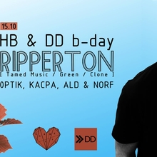HB & DD B-Day w/ Ripperton (Tamed Music / Green / Clone, Lousanne – CH)