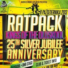 RATPACK 25TH SILVER JUBILEE ANNIVERSARY