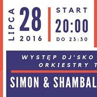 Żywy Czwartek – Simon & Shambalaya live drums