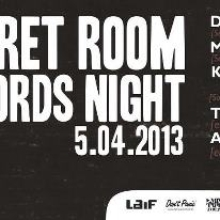 Secret Room Records Night with Deas and Midi Zoo