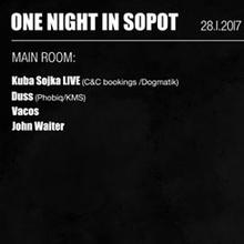 One Night In Sopot ╳ Kuba Sojka