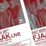 FJAAK live / 50Weapons (-2) X NOVIKA + Mr Lex (-1)