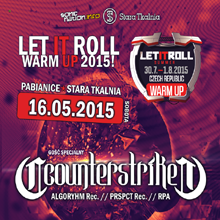 LET IT ROLL Warm Up feat. COUNTERSTRIKE!