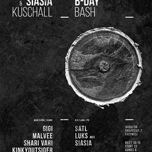 Siasia & Kuschall B-Day Party! (Techno x D&B)