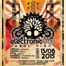 Electronic Tree Label Night