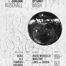 Siasia & Kuschall 'Bday' Night (Techno x D&B)