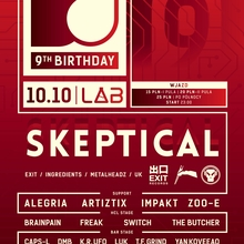 DrumObsession's 9th Birthday with SKEPTICAL