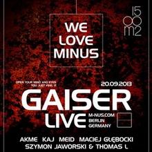 GAISER (M_nus)