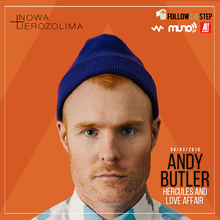 Andy Butler (Hercules & Love Affair/ Mr INTL)