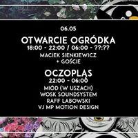 Otwarcie ogródka / Oczopląs at Oczy, Poznań
