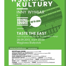 Taste The East, czyli Original Source Up To Date Festival after-party