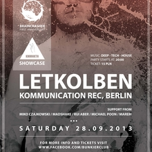 Braincrasher: Kommunikation Rec. Berlin Showcase w. Letkolben
