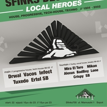 "SFINKS DECADE AGO ""Local Heroes"""