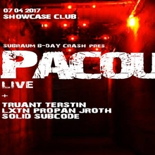 Subraum b-day crash with PACOU live !