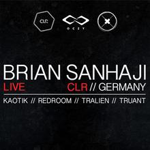 PLAYGROUND: BRIAN SANHAJI – LIVE (CLR, Germany) + CHILL OUT / AMBIENT GARDEN @ Oczy, Poznań