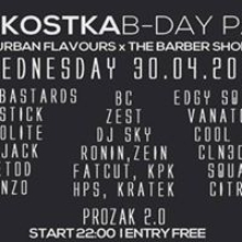 THE BARBER SHOP x URBAN FLAVOURS x BC & KOSTA B-DAY