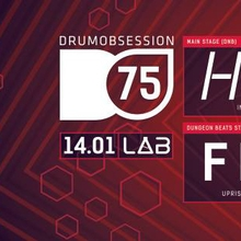 DrumObsession #75 with Hybris x Dungeon Beats with Feonix