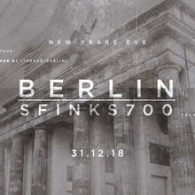 NYE 18/19: Berlin – Sfinks700 feat. Handmade
