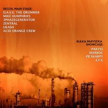 Let's Go Te33no V & Acid Orange Crew XVII B-DAY with Recoil