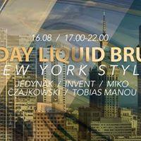 SUNDAY LIQUID BRUNCH