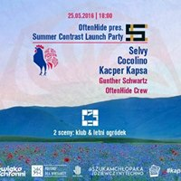 OftenHide pres. Summer Contrast Launch Party w/ Selvy x Cocolino x Kacper Kapsa