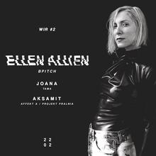 WIR #2: Ellen Allien