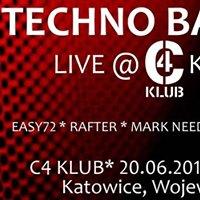 Techno Bassault Live @C4 Katowice