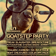GOATSTEP PARTY: FREAK SLAUGHTER & BREAK N TUNE | ARCZI B-DAY | 3 SCENY