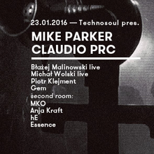 Technosoul pres. MIKE PARKER & CLAUDIO PRC