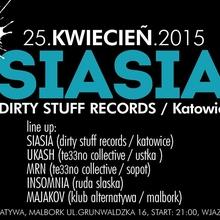 SIASIA (Dirty Stuff Records / Katowice)