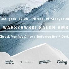 Piąty Warszawski Salon Ambientu – bvdub (Brock Van Wey) live