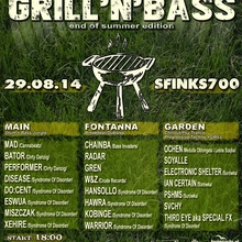 GRILL & BASS – end of summer edition