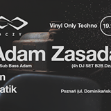 VINYL ONLY TECHNO – Adam Zasada (Pets) Exclusive 4H DJ Set