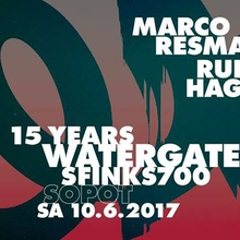 15 Years Watergate – Sopot