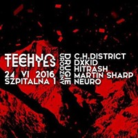 TECHNO TECHYES #15 DRUGIE URODZINY /w C.H. District