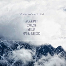 10 years of electrified.