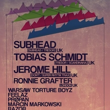 Out of Sync #3: Subhead Live X Tobias Schmidt Live X Jerome Hill